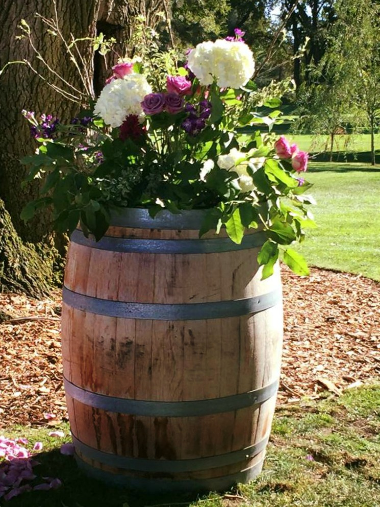 WINE BARRELS - $35 EACH MORE DETAILS & PICS...