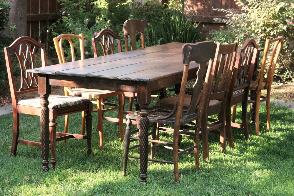 Farm Table for wedding and event rental