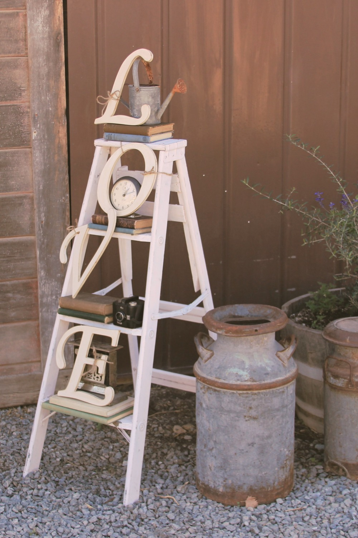 Vintage Wedding LOVE Ladder Rental