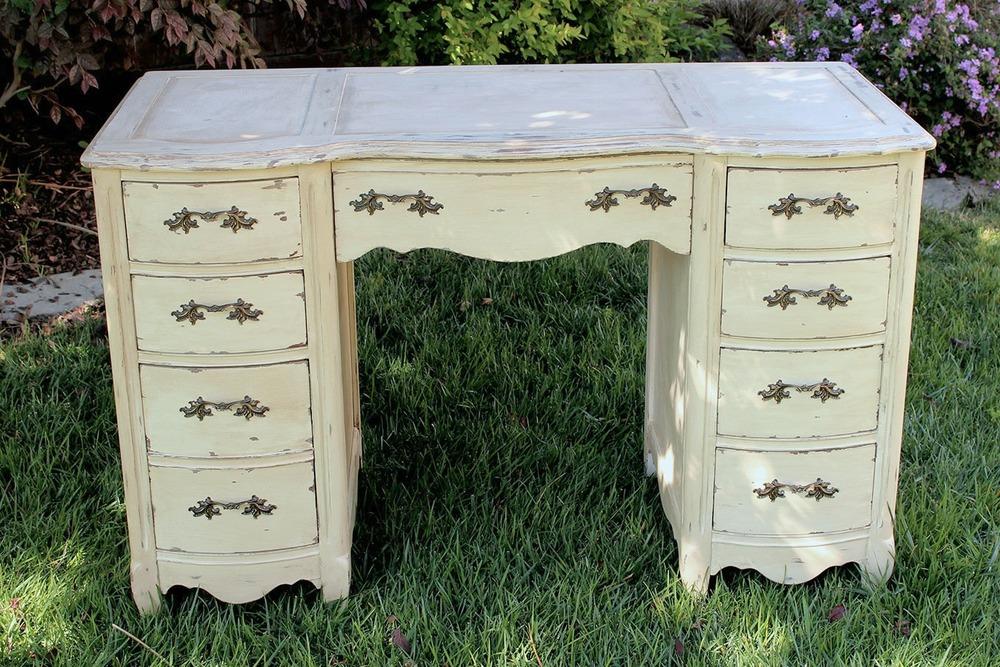 Vintage Writing Desk Rental - American Vintage Rentals Wedding Rentals Furniture, Decor