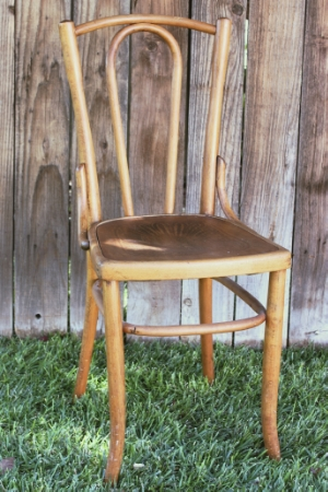 Bent Wood Chair RENT FOR $15 MORE DETAILS & PICS...