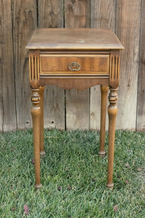 Bedside Table (tall) - $25    MORE DETAILS & PICS...