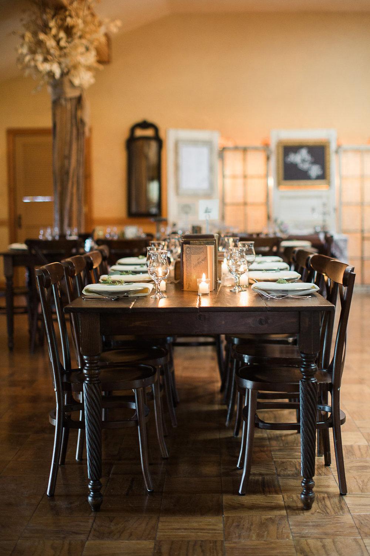 Rustic Vintage Wedding Farm Tables Rentals
