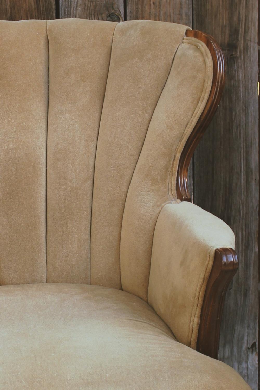 vintage wedding parlor chair furniture rentals