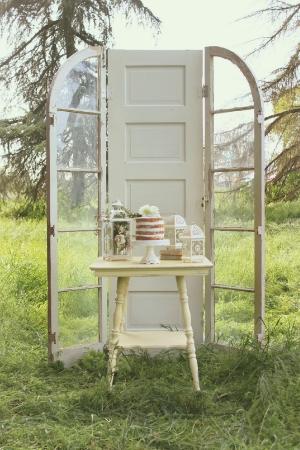 3 Door Arched Altar - $150 MORE DETAILS & PICS...