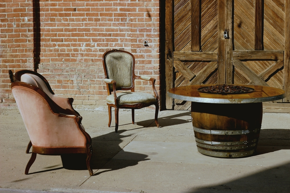 Old Sugar Mill wedding industrial vintage wedding rentals
