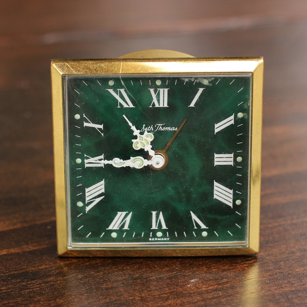 Mini Seth Thomas Square Clock-Crop.jpg