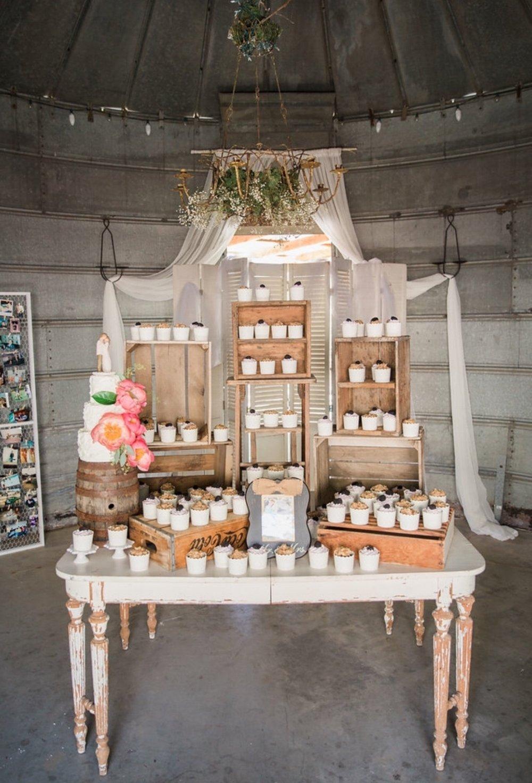Pageo Lavender Farm Wedding Dessert Table