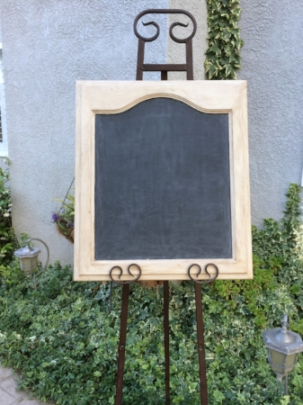 "BLANK CUPBOARD DOOR CHALKBOARD - SHORT Blank - $15     Size: 20"" x 23""  Customizable for additional fee"