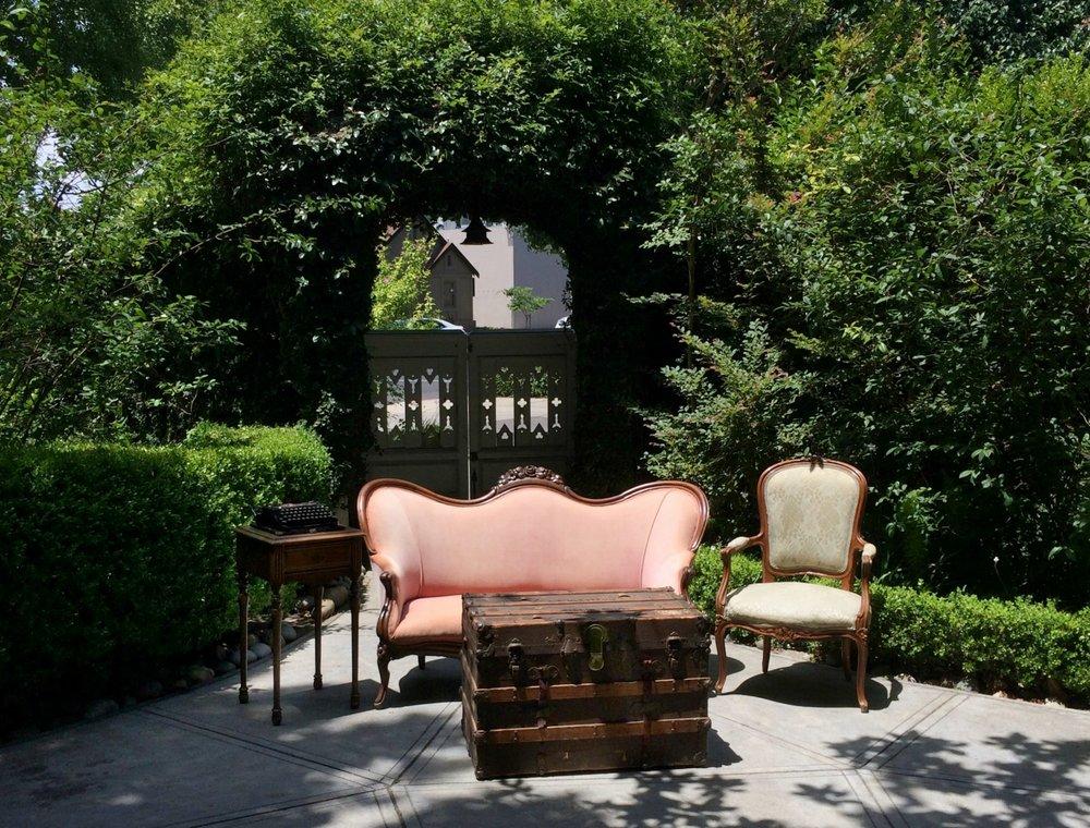 McHenry Mansion Garden Wedding