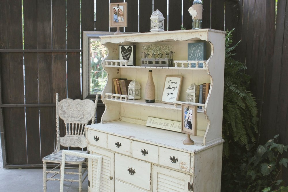 Vintage Wedding Furniture - Hutch