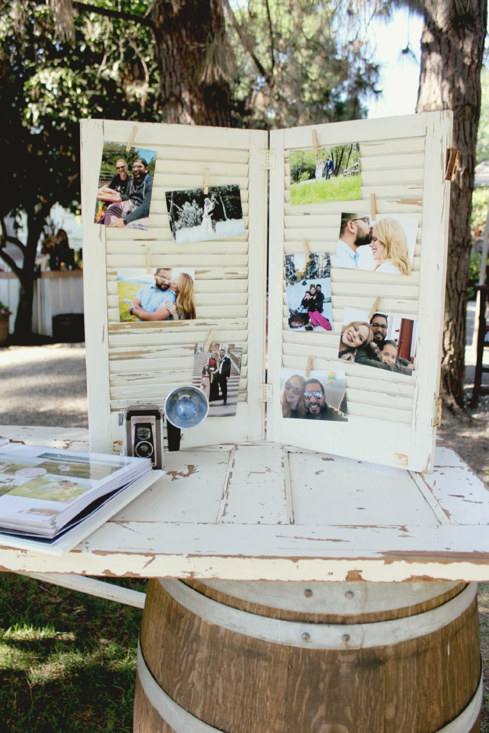 Vintage Wedding Ideas Shutter
