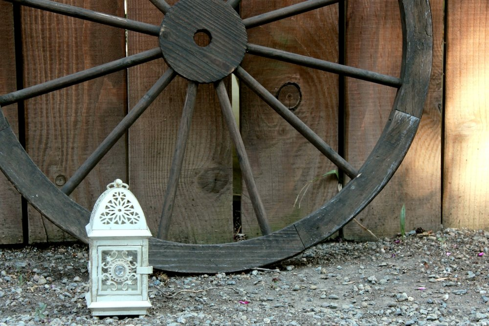 Rustic Barn Wedding  - Lantern