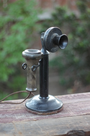 1930's Western Electric Candlestick Phone   - $25  MORE DETAILS & PICS...