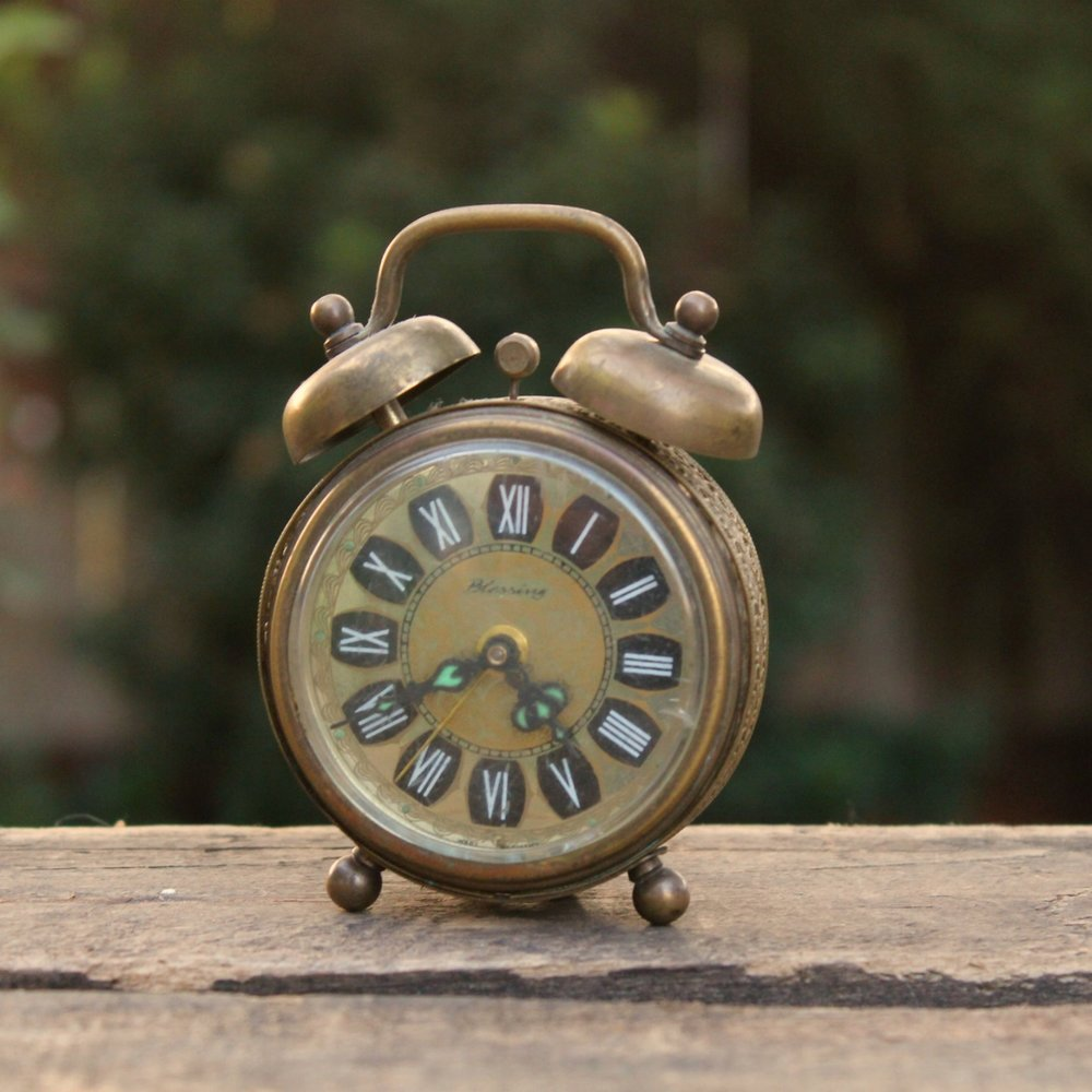 "Small ""Blessings"" Alarm Clock - $3 MORE DETAILS & PICS..."