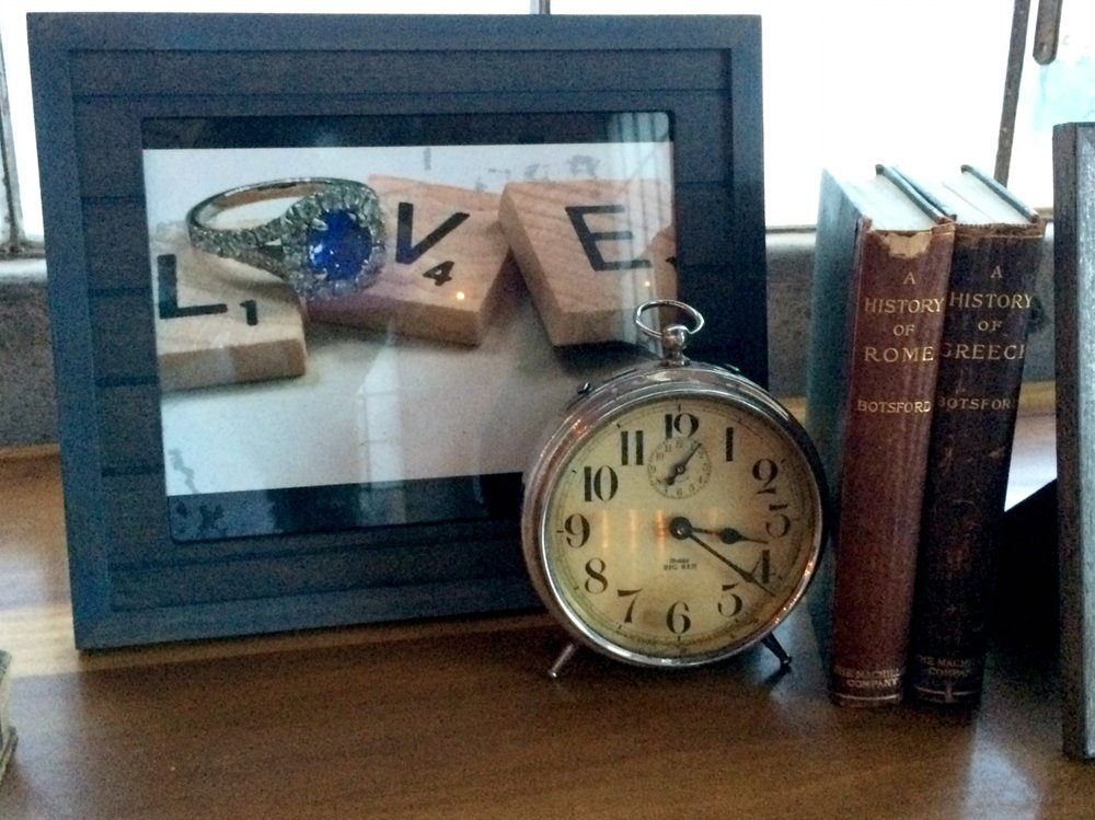 Vintage Alarm Clock - wedding Decor