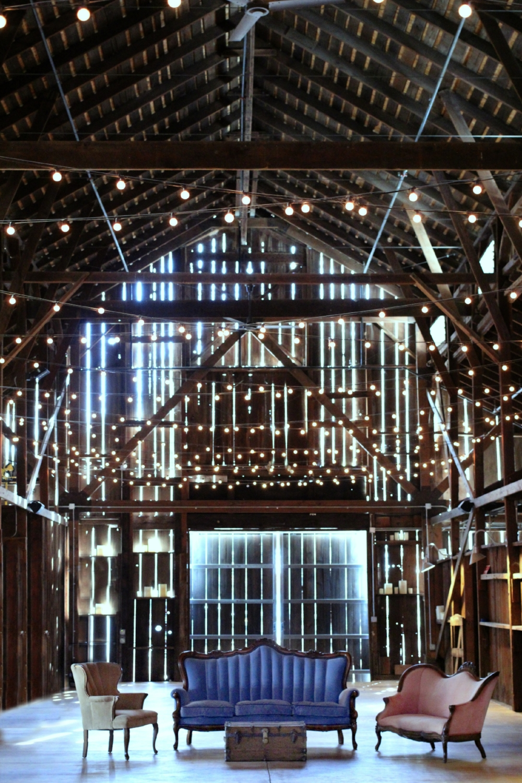 Oak Farm Vineyards Wedding - Vintage Lounge Area