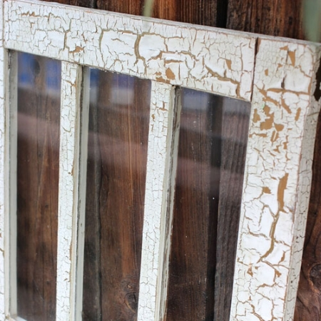 4 Pane Rectangular Window- $20 MORE DETAILS & PICS...
