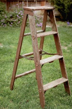 A-Frame Ladder 1 - $15 MORE DETAILS & PICS...