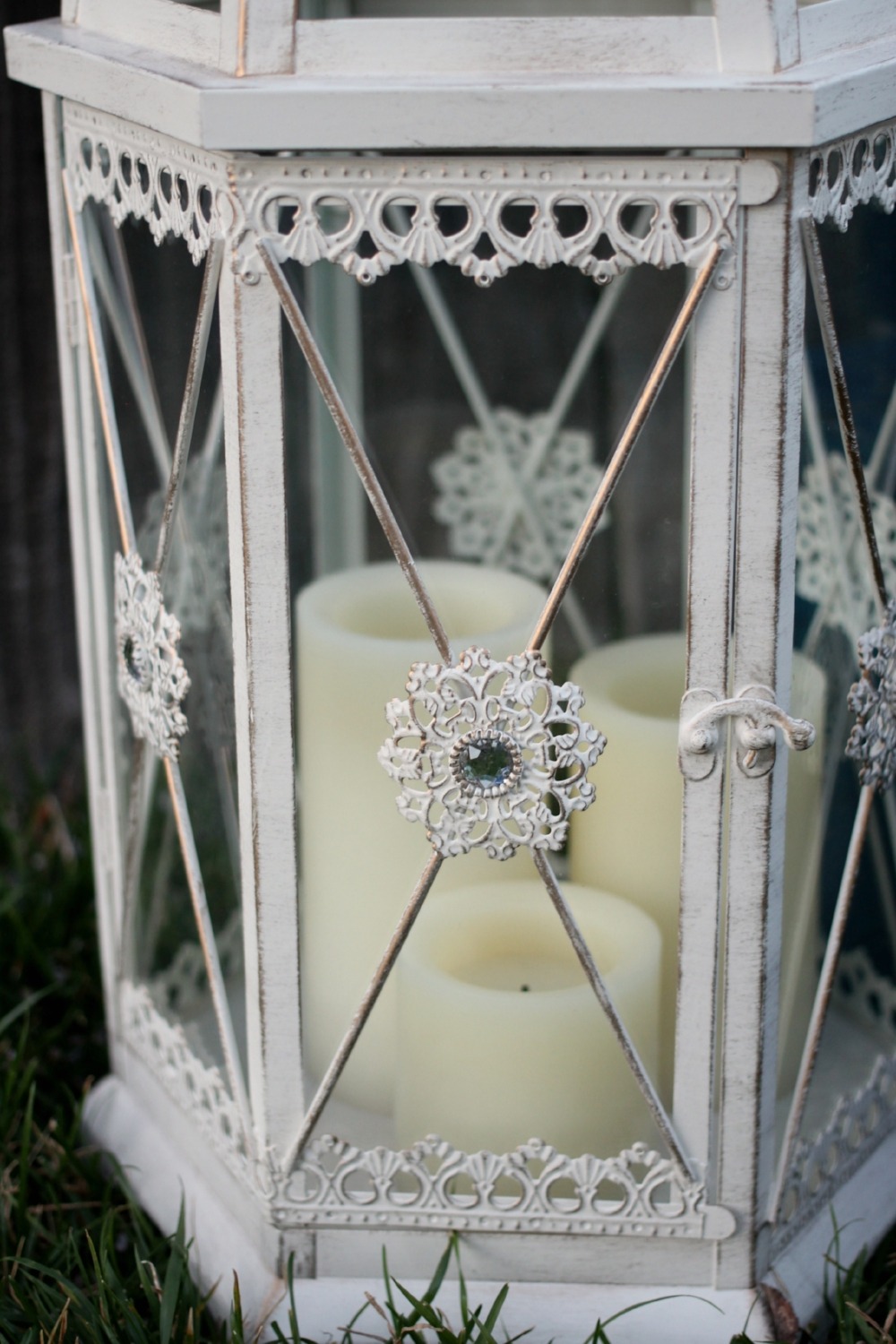 Candle Lanterns for Vintage Wedding