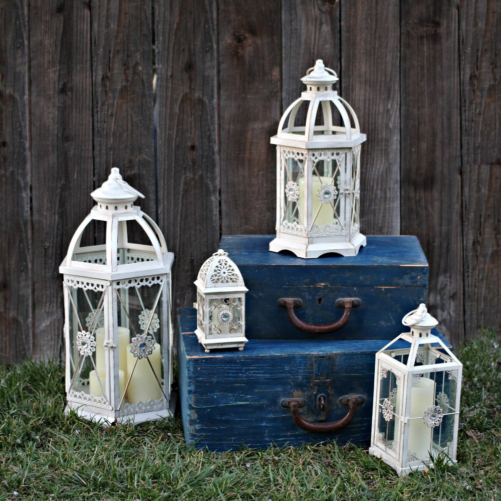 Wedding Candle Lanterns for rent