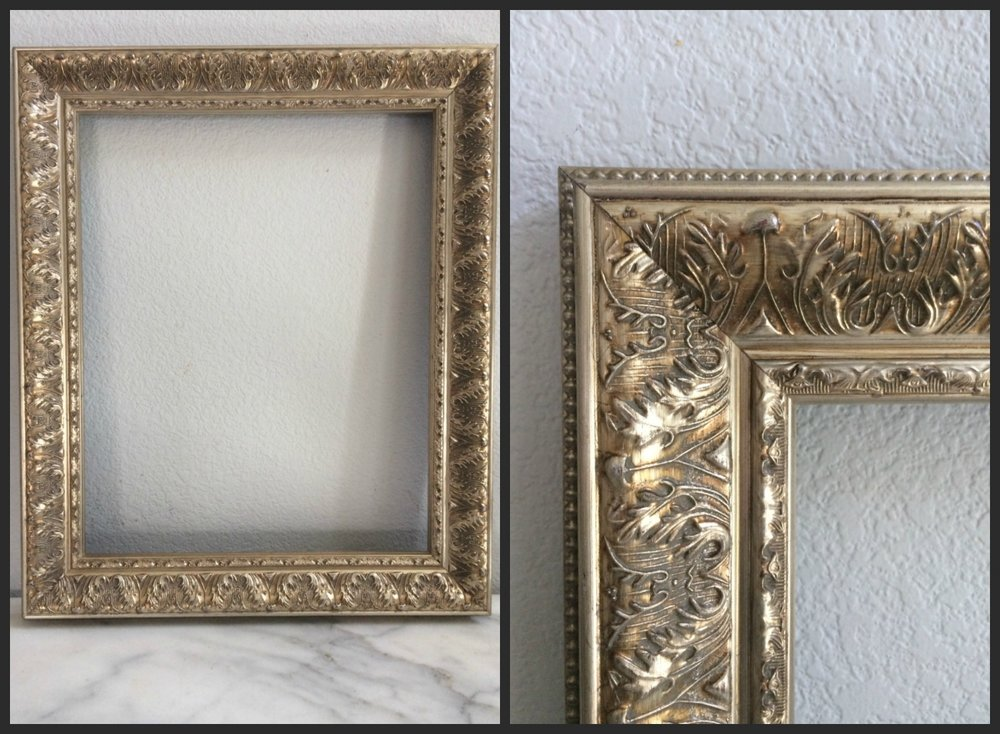 "LARGE - GOLD FANCY - 16"" x 22"" x 2.5"" - $15"