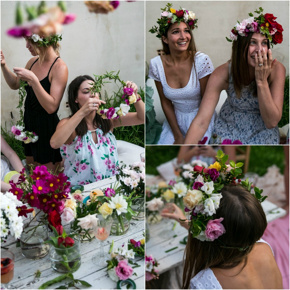 Diy Flower Crown Workshop Oh Flora Studio