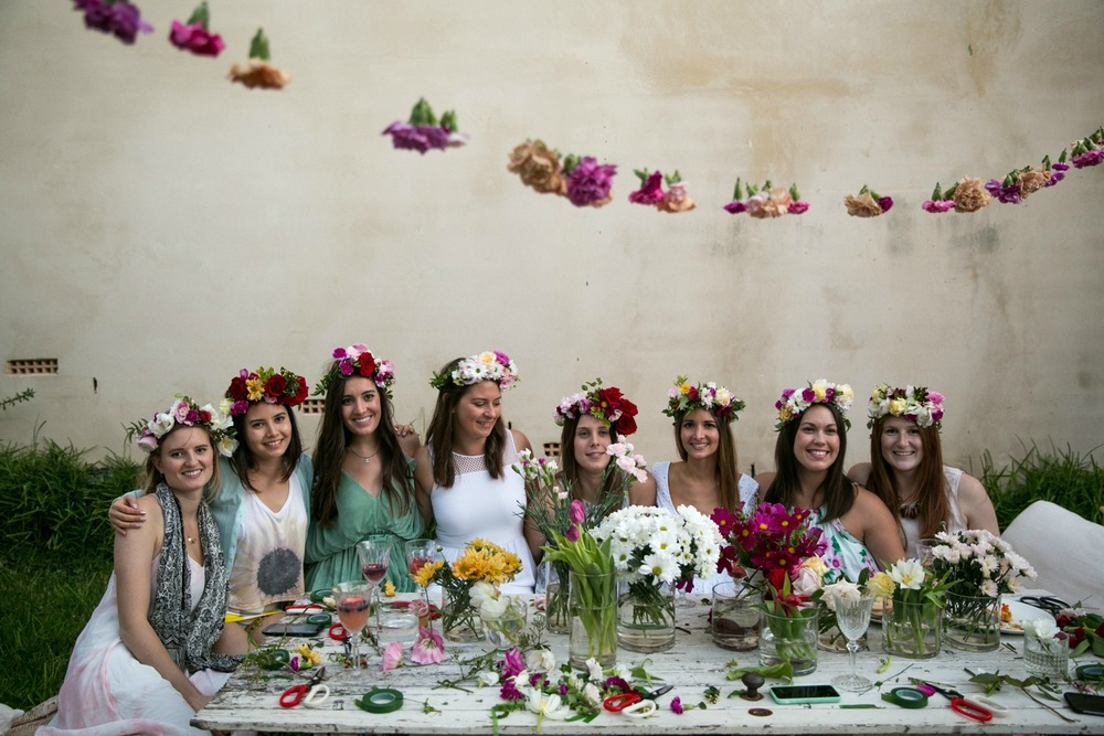 Oh Flora Flower Crown DIY