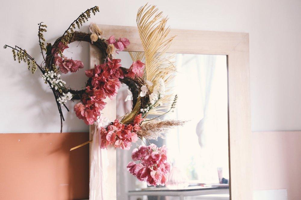 Oh Flora Christmas Wreath Workshop