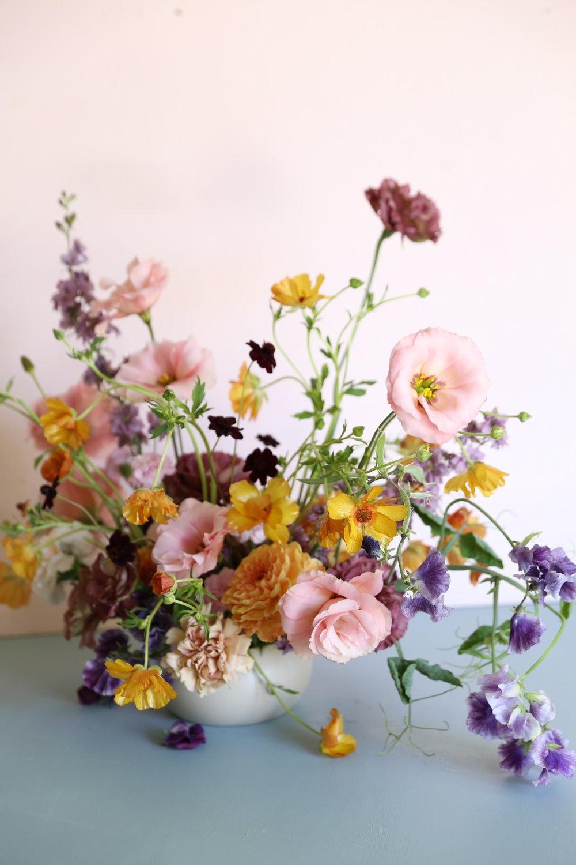 Sydney wedding florist & designer, Oh Flora : spring arrangements, pastels .JPG