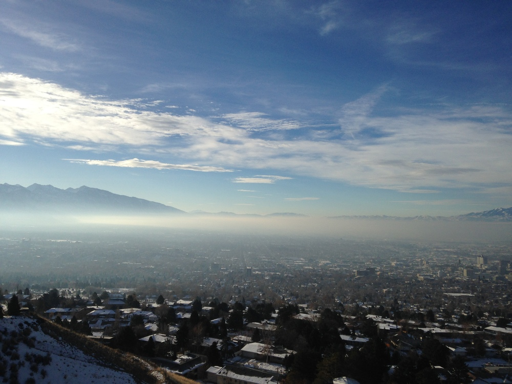 That 39 s not fog or mist it 39 s toxic inversion for Fly fishing salt lake city