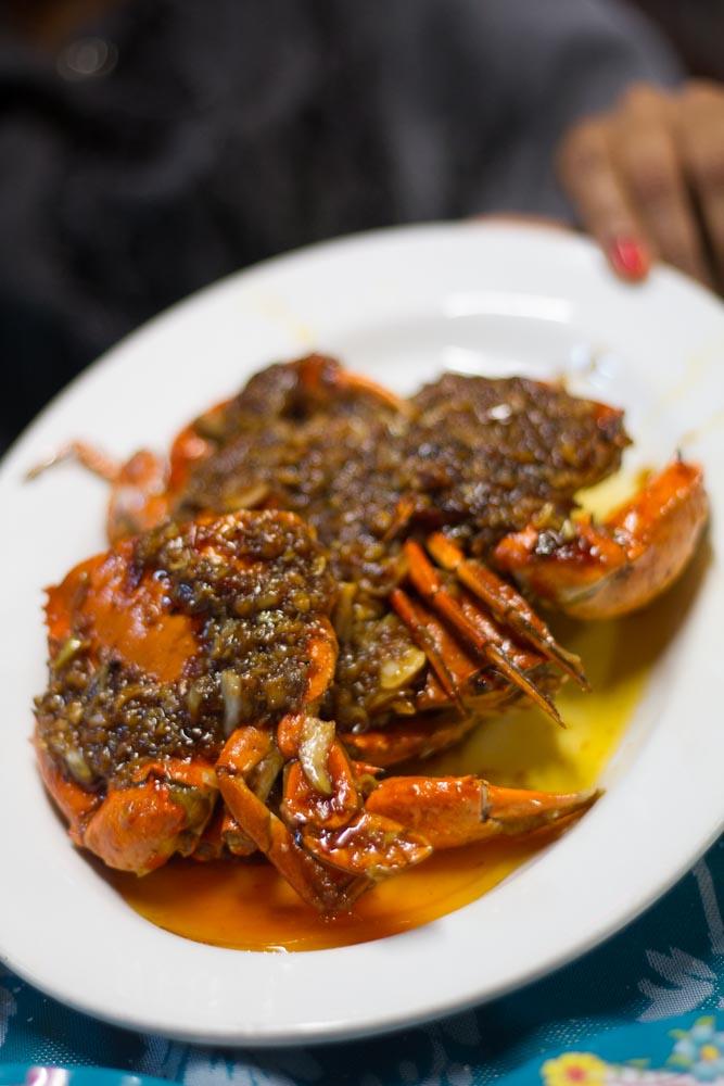 Tamarind crab