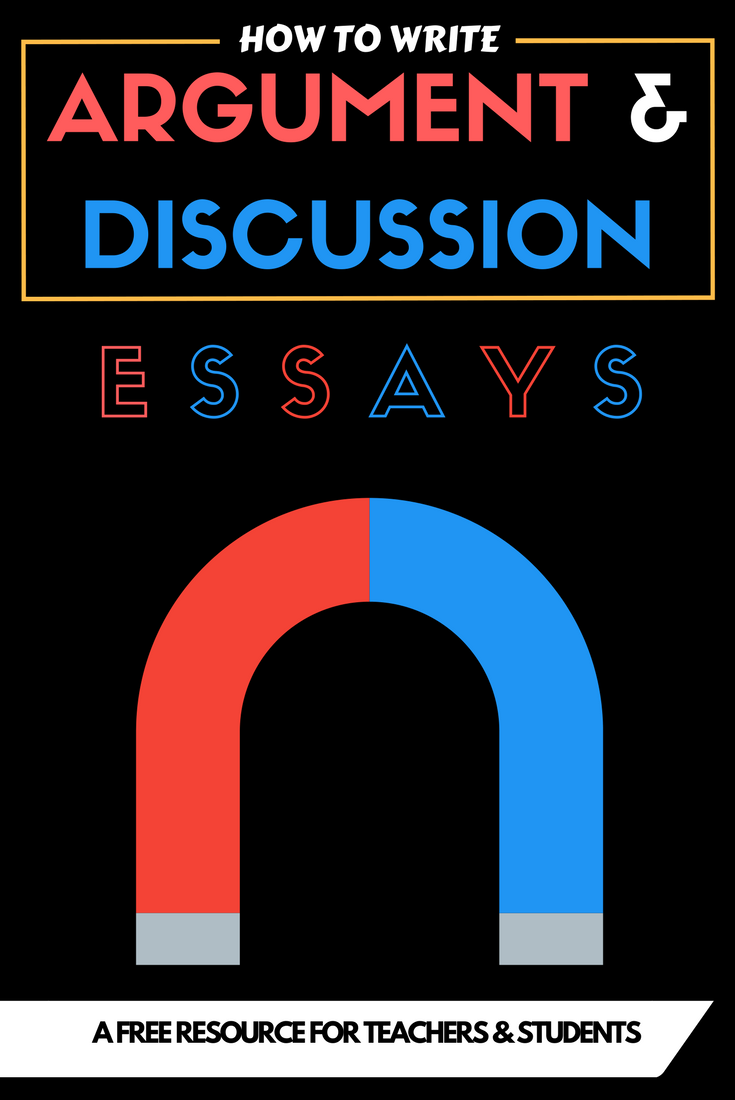 How to write an argument or Discussion essay