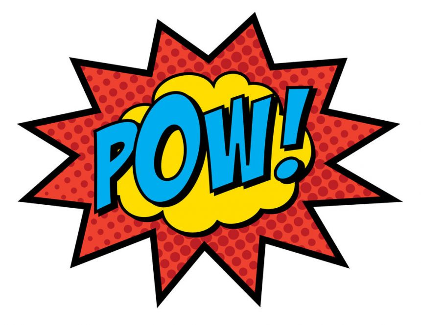 Onomatopoeia: in action in many comics