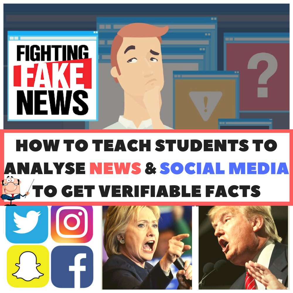 IT'S ALL HERE - A complete unit of work on how to teach students to analyze news and social media to get verifiable facts.  ALL CONTENT, RESOURCES AND ASSESSMENT TOOLS INCLUDED.
