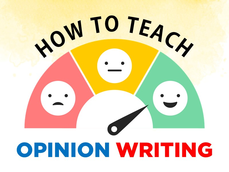 STUDENt's love to share their opinions.  But organizing them into a quality piece of writing is learned craft.