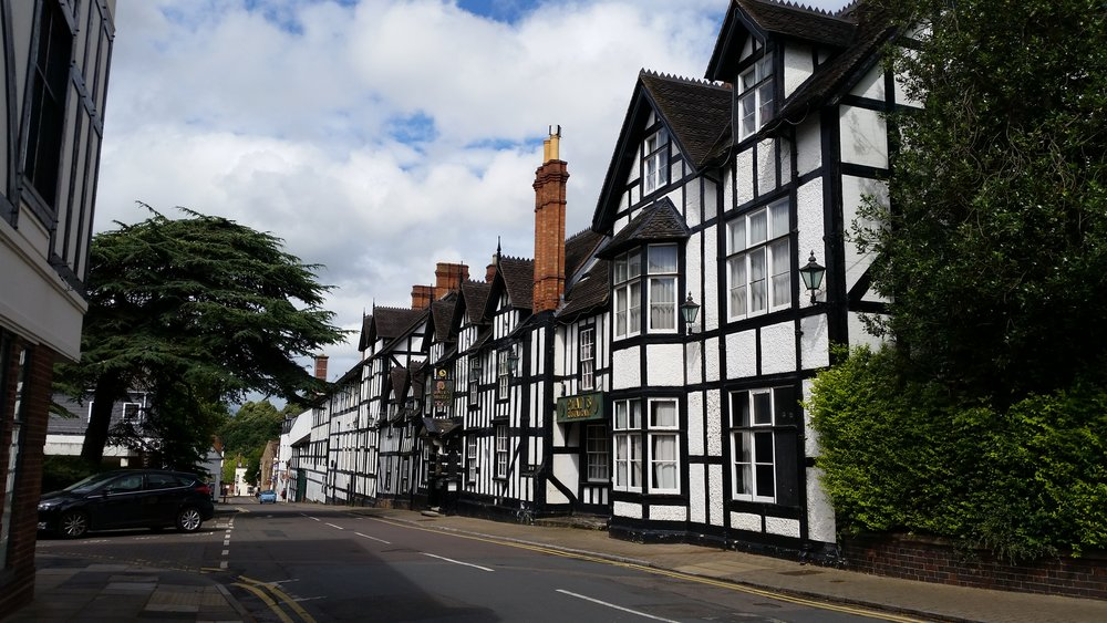 The Raven Hotel, St. Andrew's Street, Droitwich Spa