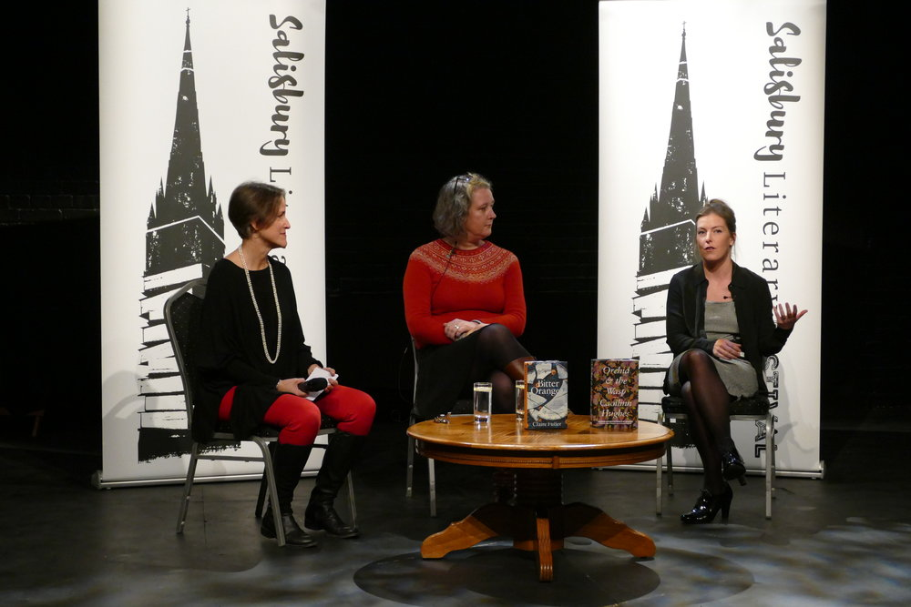 And here is Caoilinn Hughes discussing her debut,  Orchid & the Wasp , and how difficult it is for people to accept an ambitious female character whose decisions can't be traced back to some sort of trauma. She is also a poet, with an award-winning collection called  Gathering Evidence .