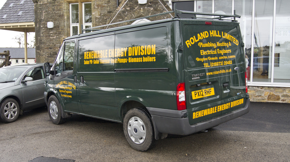 Renewable Energy Division van