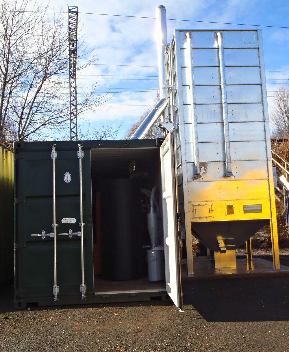 Biomass Pellet Boiler
