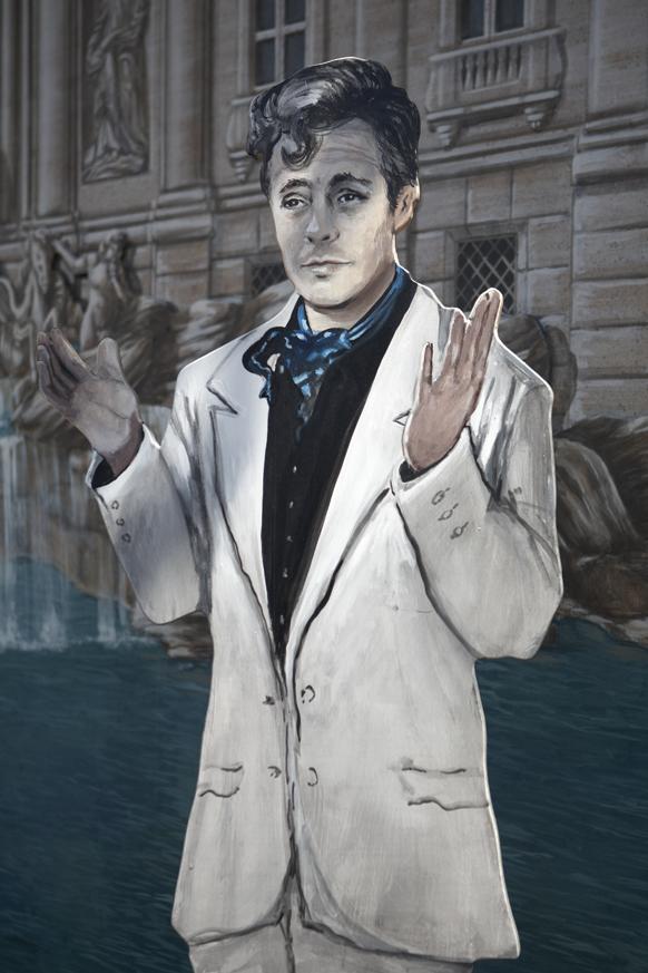 """Marcello Mastroianni , """"La Dolce Vita"""""""