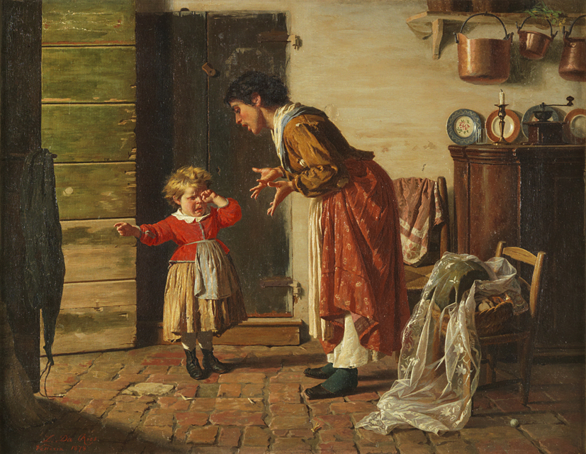 "Luigi Da  Rios                                                                                                         ""Cossa gastu fato?"", 1878  Da Rios Family collection"