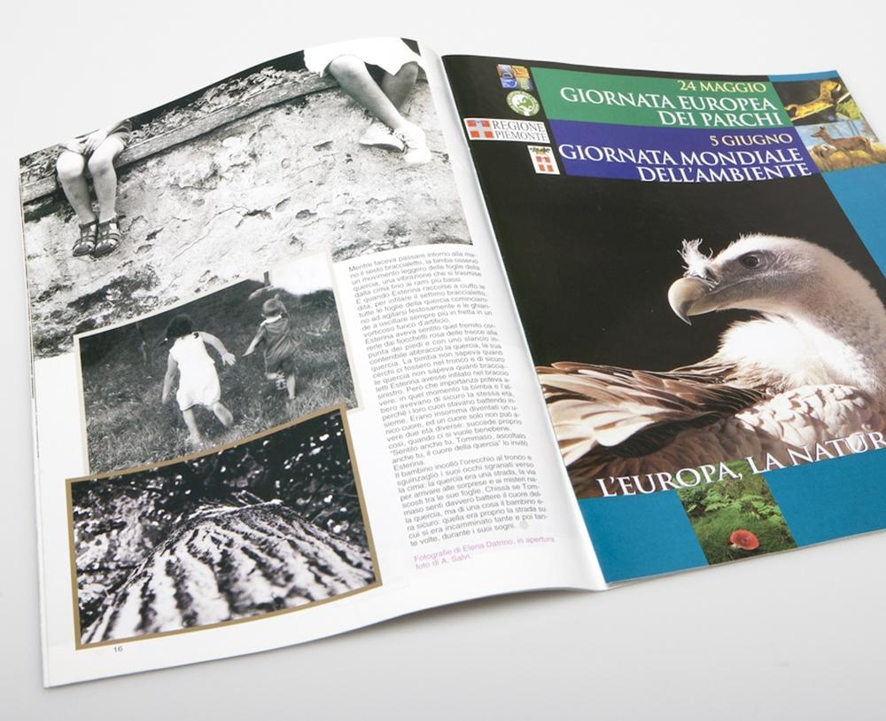 Editorial  Piemonte Parchi, Diffusioni Grafiche Editions, Alessandria 2001