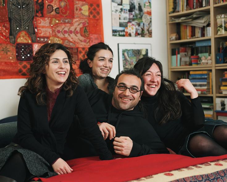 Cinzia, Luigi, Carlotta, Emma