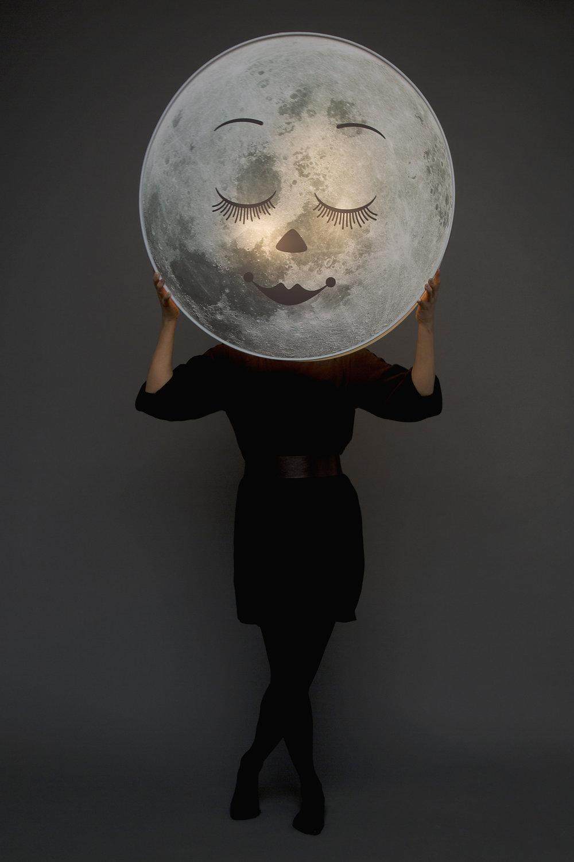 Moon lamp, JoannTan Studio