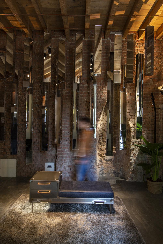 Fuorisalone 2018, Spazio Donno, Milan   Laerre Homme collection
