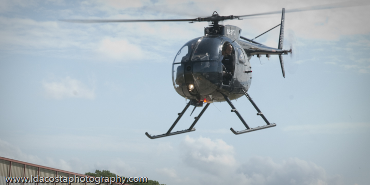 Vernon in flight