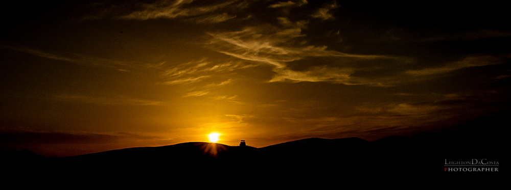 'Sunset on the Ridge' Captured w/ Nikon Df f/22 1/4000s ISO6400 -1EV 24-70mm f/2.8 Nikkor at 32mm B+W Circular Polarized Filter