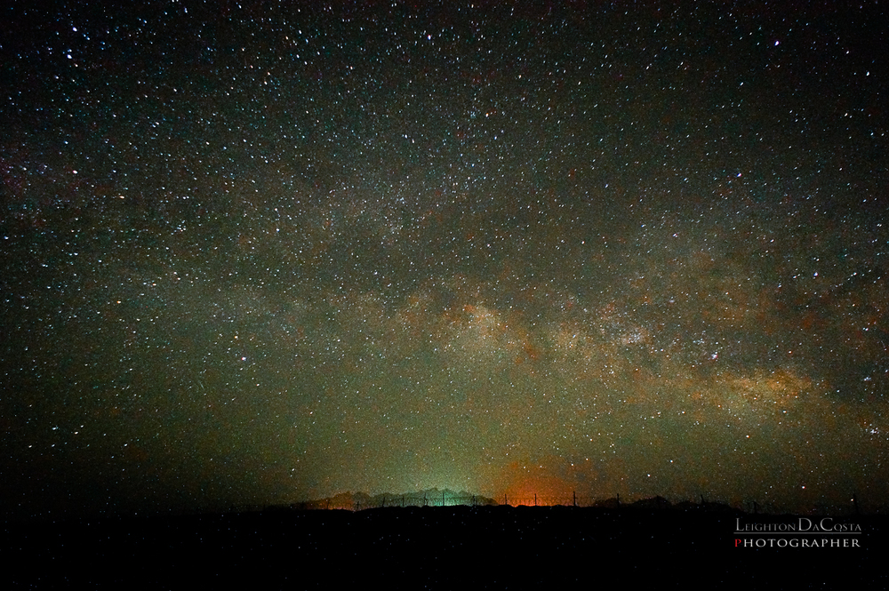 The Milky Way Captured with a Sony NEX-6 16mm f/2.8 at f/4 ISO 3200 25s