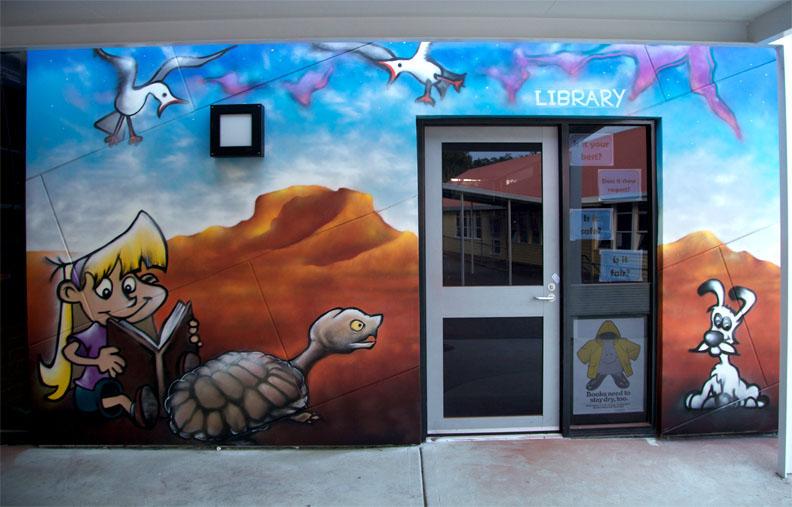 Lindisfarne Primary School. Lindisfarne, Tasmania.